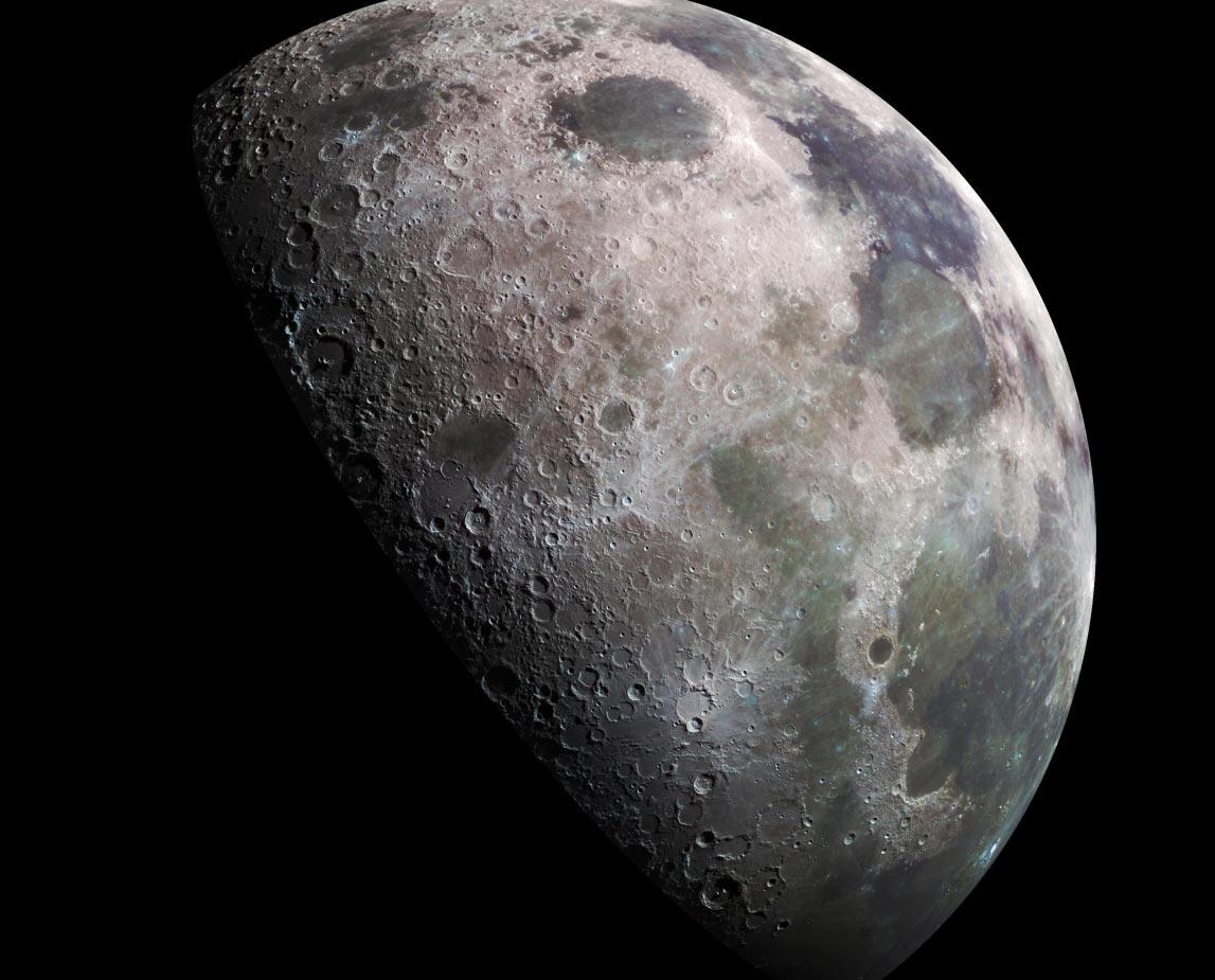 фотографии обратной стороны луны
